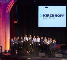 Gespannt lauschten die Zuschauer dem Gesang des KIRCHHOFF Chors zu Beginn des Jahres 2019 in Iserlohn.