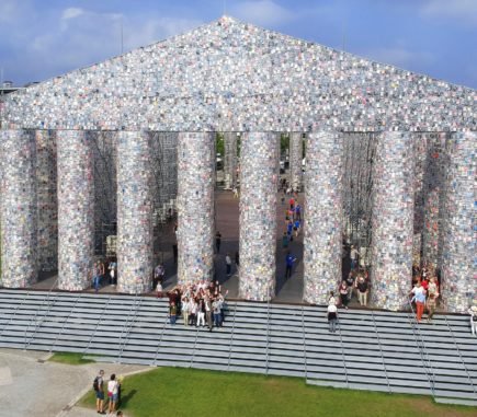 With the drone you get a good overview of the documenta