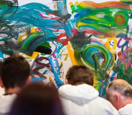 KIRCHHOFF Culture Life - Employees from Hungary get creative during the painting event
