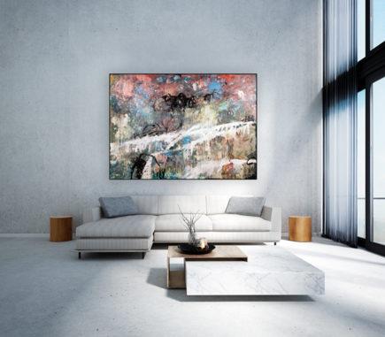 Durch gemeinsame künstlerische Gestaltung kann ein Meisterwerk entstehen, so wie bei der KIRCHHOFF Culture Life Malaktion.